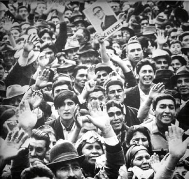 Kundgebung für Allende