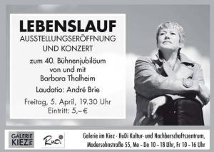 Barbara Thalheim - Lebenslauf