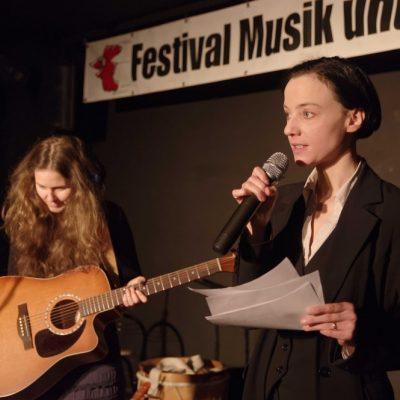 Festival Musik und Politik 2016 - Berlin 26.-28.02.2016 - Klubhaus WABE