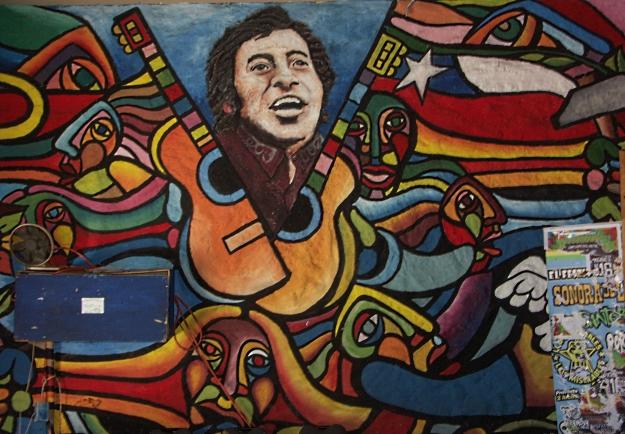 Graffiti in Chile